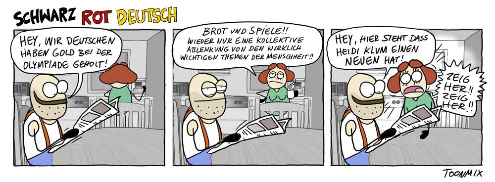 Schwarz Rot Deutsch- Die wichtigen Themen