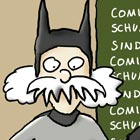 "Illustration ""Comics sind Schund"""