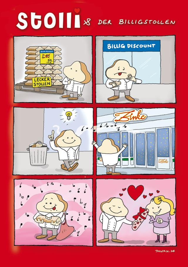 Bäckerei Zinke Comic #2