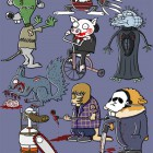 TShirt Halloween Collection: Cuddly Killers