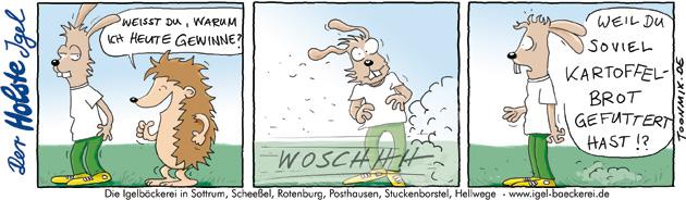 Bäckerei Holste – Igel Cartoon #2