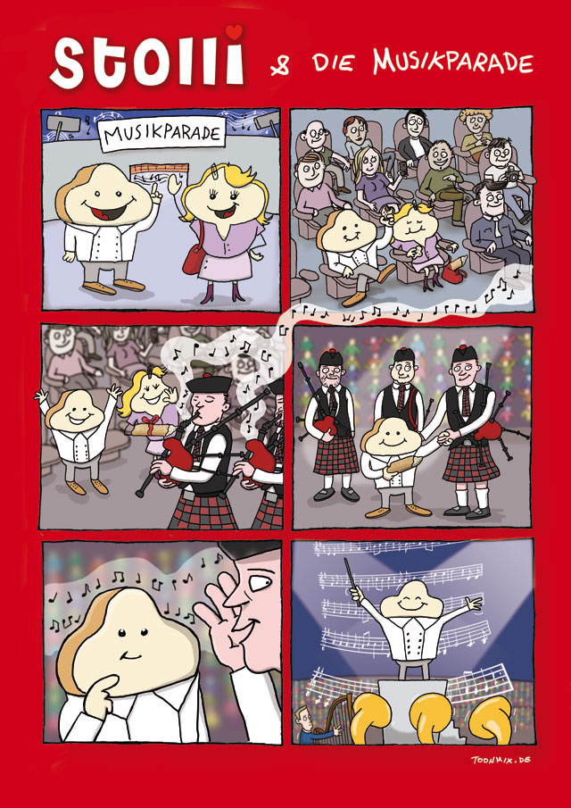 Bäckerei Zinke Comic #4