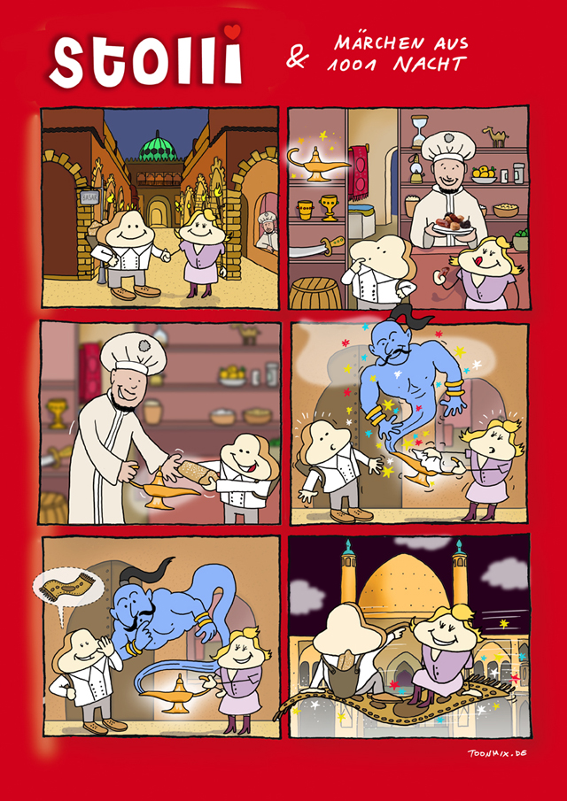 Bäckerei Zinke Comic #7
