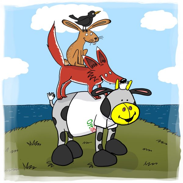 Oytinchen – Was sucht eine Kuh am Meer? – Band 4 / Stadtmusikanten