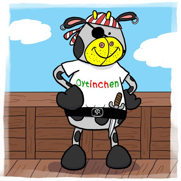 Oytinchen – Was sucht eine Kuh am Meer? – Band 4 / Pirat